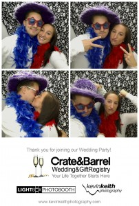 Kansas City Photo Booth | Lightbox Photo Booth | Kevin Keith Photography | Crate & Barrel Wedding Registry