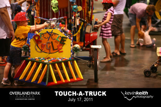 Overland Park Convention Center 2011 Touch-A-Truck | Ever Ashley Photography | Kevin Keith Photography
