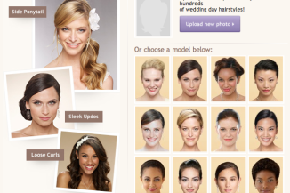 Virtual Wedding Day Hair Makeover on The Knot