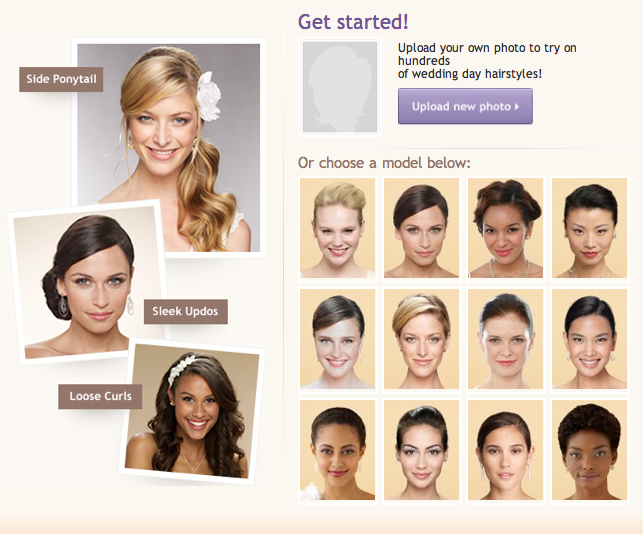 see what you look like with different hair styles wedding day hair makeovers leawood wedding 4437 | Picture 21