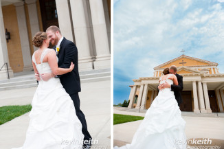 Sara & Alex's Leawood Wedding Photography and Californos Reception by Kevin Keith Photography