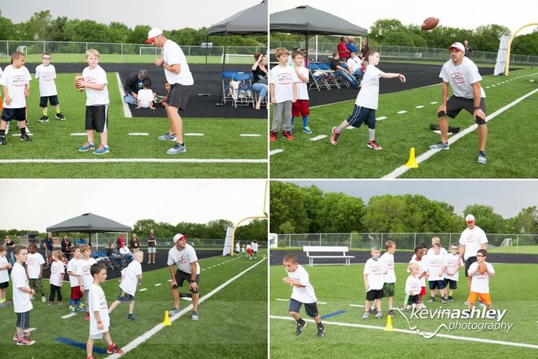 Alex Smith Kansas City Chiefs Football Hyvee Pro Camp ProCamp by Kevin Ashley Photography