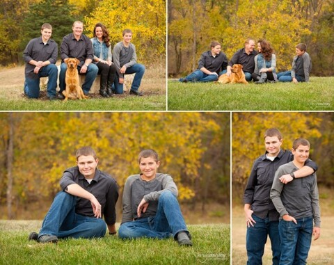 Deffenbaugh Family Photos and Senior Photo Shoot in Wichita, Kansas by Kevin Ashley Photography