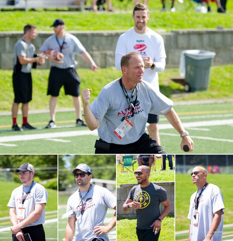 Kansas City Chief's quarterback Alex Smith Football ProCamp sponsored by Hyvee at Shawnee Mission West High School in Kansas City. Photos by Kevin Ashley Photography.