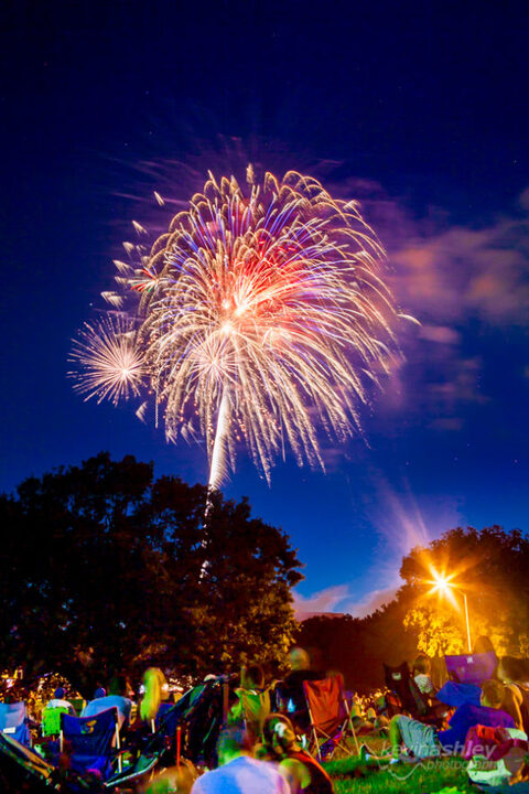 Fireworks at Corporate Woods 2016 by Kansas City Photographers ©Kevin Ashley Photography